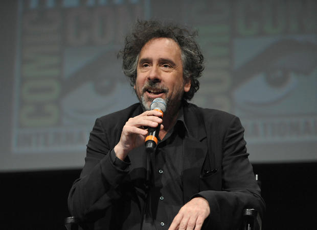 Director Tim Burton speaks at Comic-Con on July 12, 2012 in San Diego, Calif.