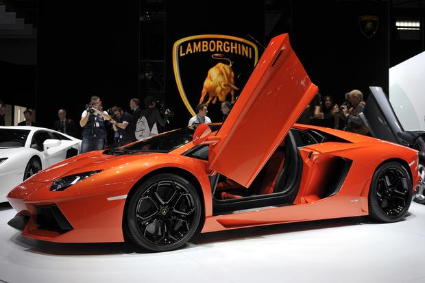 10. Lamborghini Aventador   Top 10 Fastest Cars In The World   Pictures    CBS News