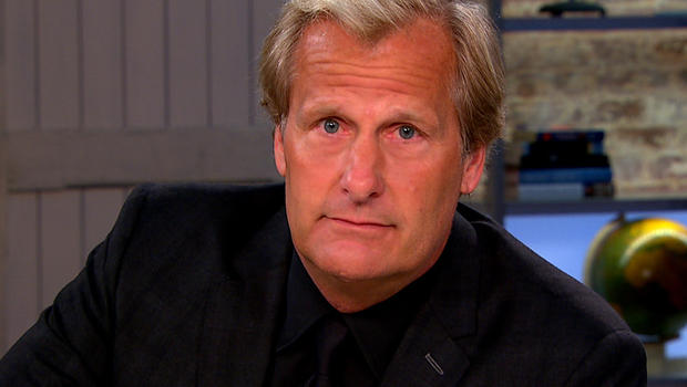 "Jeff Daniels on ""CBS This Morning."""