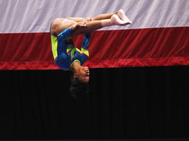 Gold medal winner Gabby Douglas