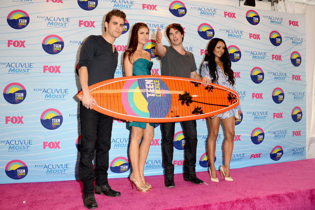 2012 Teen Choice Awards: In the press room