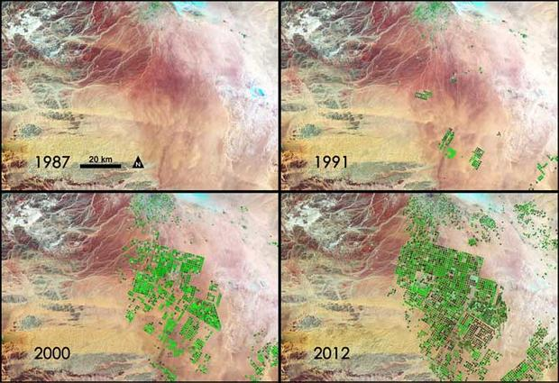 Landsat: 40 years of watching Earth from orbit