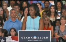 "Michelle Obama's ""It Takes One"" campaign"
