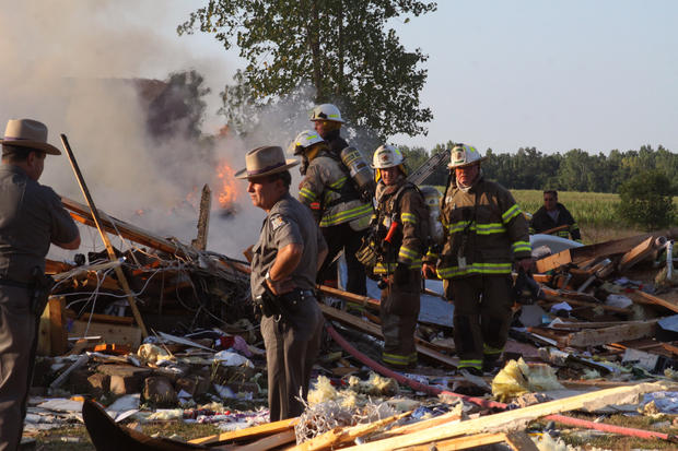 Girl killed in NY house explosion