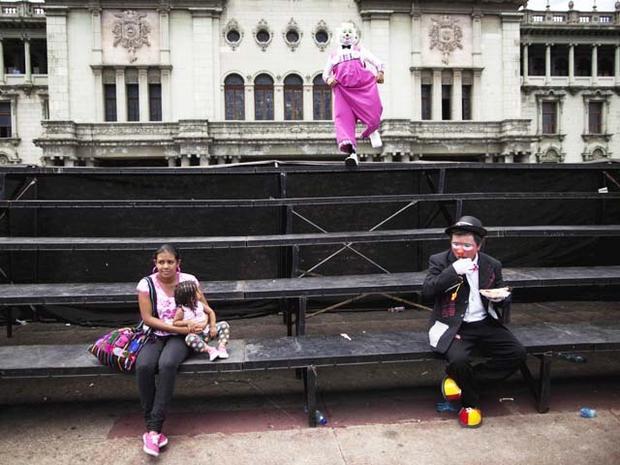 Clowns gather in Guatemala