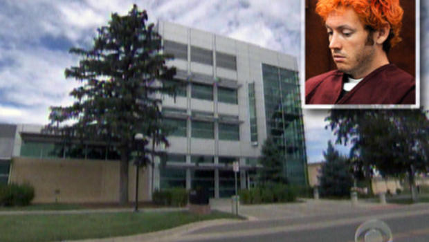 Colorado shooting suspect James Holmes, pictured above at a court hearing Monday, sent a letter full of violent imagery to a psychologist at the University of Colorado-Denver's medical campus, where he studied.