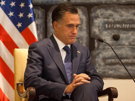 Romney backs Israel in opposing Iran's nuclear armament