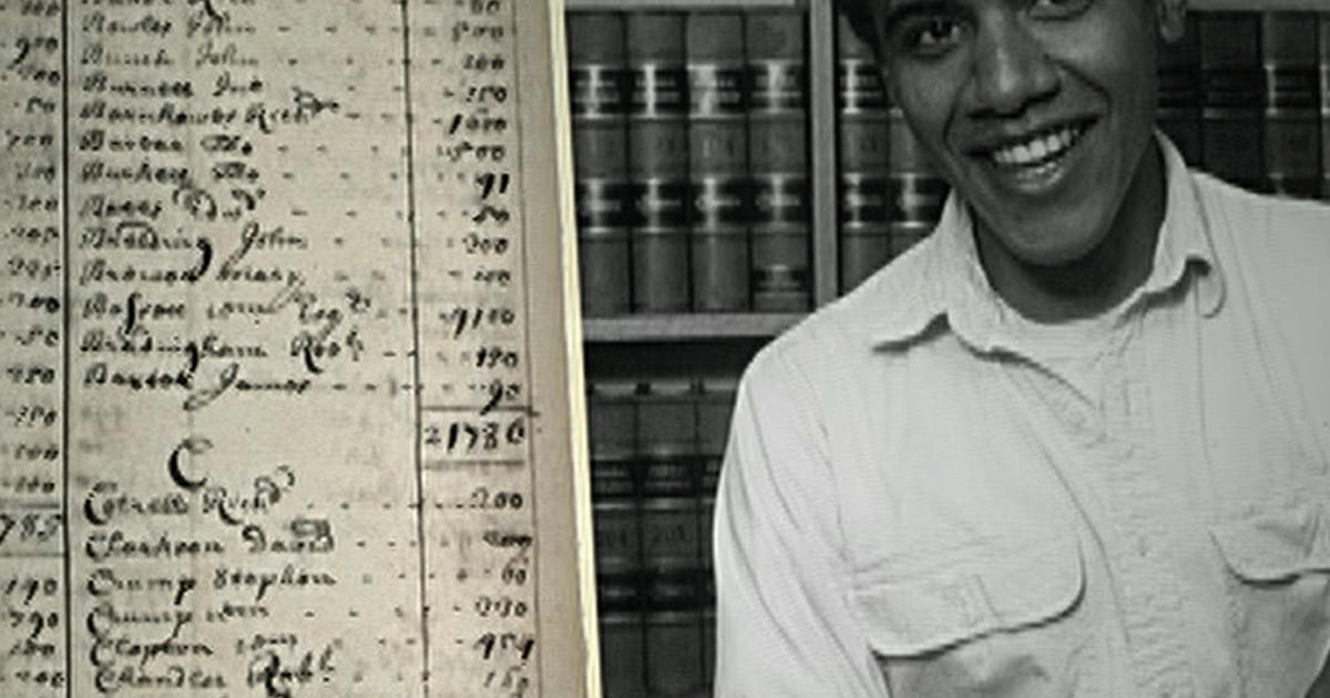 Surprising link found in Obama's family tree - CBS News