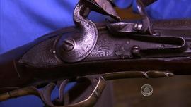 Revolutionary War musket