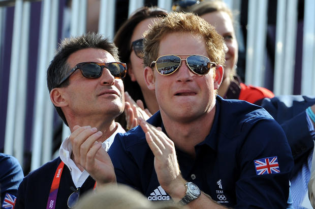 Prince Harry at the London 2012 Olympic Games