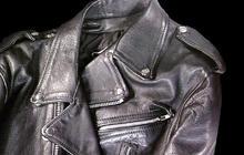 Black leather jacket: Iconic cool fashion