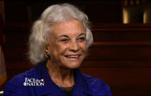 Health care, Citizens United and civics with Justice O'Connor