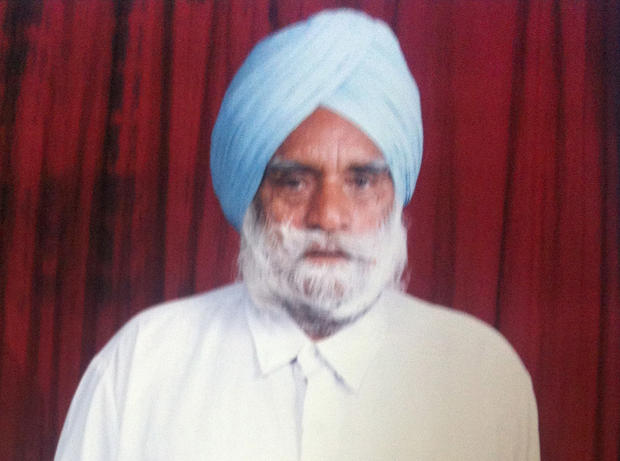 Suveg Singh Khattra, 84, was among the dead in Sunday's shooting at a Sikh temple in Oak Creek, Wis, relatives said.