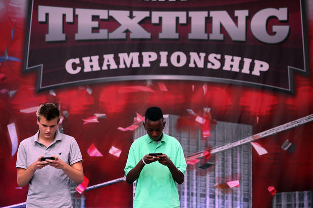National Texting Championships held in NYC