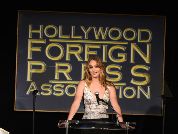Hollywood Foreign Press luncheon 2012