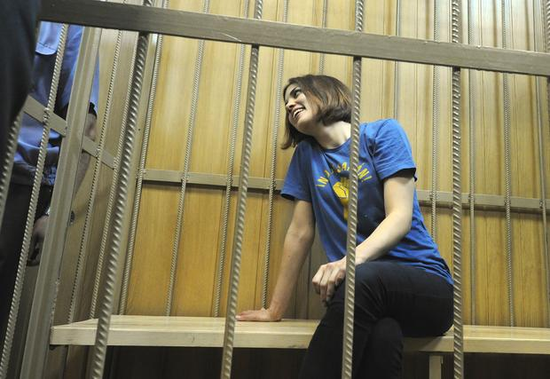 Russian female punk band on trial