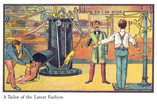 A vision of the future from 1899