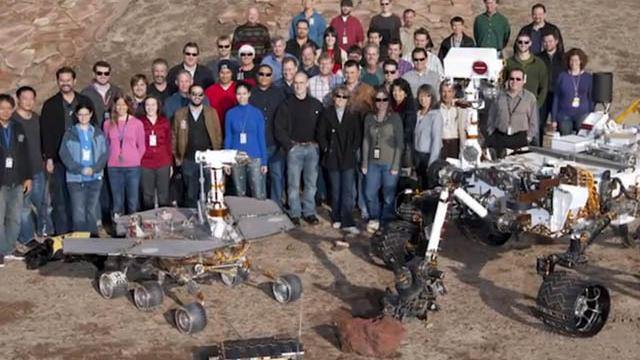 JPL Curiosity team