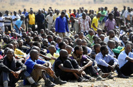 South Africa miners