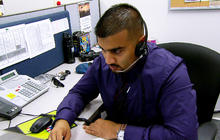 Call center becomes lifeline for suffering troops