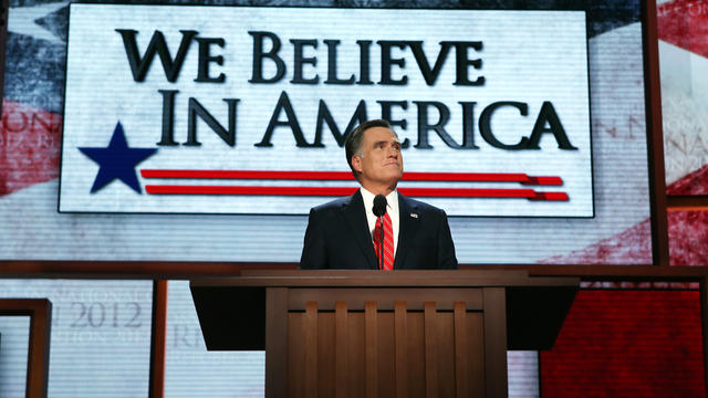Romney slams Obama on foreign policy in RNC speech