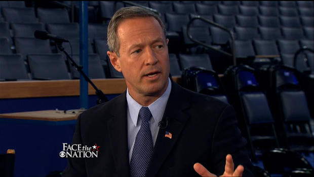 O'Malley says progress on economy will count