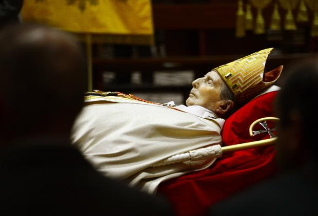 Italian Cardinal Carlo Maria Martini lies in state