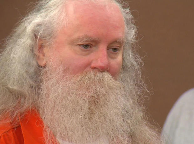 This frame grab provided by KELO-TV shows convicted killer Donald Moeller during a court appearance in Sioux Falls, S.D., Wednesday, July 18, 2012.