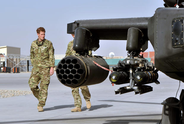 Prince Harry is redployed to Afghanistan
