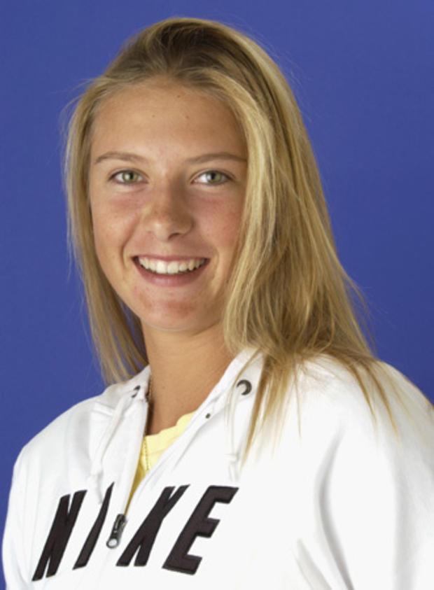 WTA player Maria Sharapova