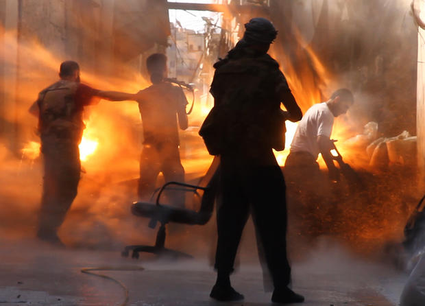 Syria's civil war: Images of horror - Photo 1 - Pictures - CBS News