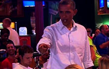 Obama makes birth certificate joke