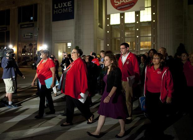 Chicago teachers strike