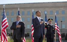 Obama, Biden pay tribute to 9/11 victims