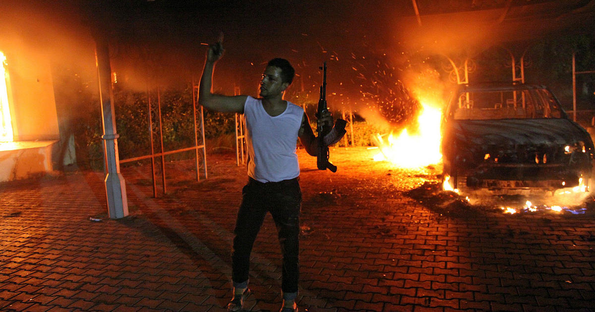 Benghazi Timeline How The Attack Unfolded CBS News - Us embassy attacks map
