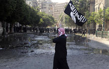 Violent protests die down in Egypt