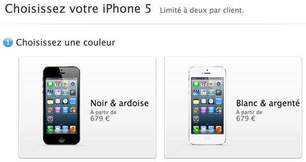 Apple's online store in France handled iPhone 5 orders with no trouble, but not all e-commerce sites stood up so gracefully under the load.