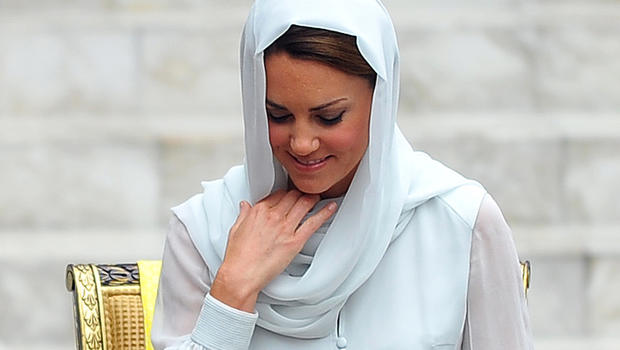 Britain's Kate, Duchess of Cambridge,  in Kuala Lumpur, Malaysia Friday