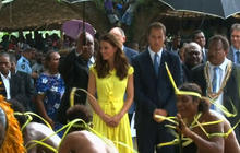 William and Kate continue South Pacific tour
