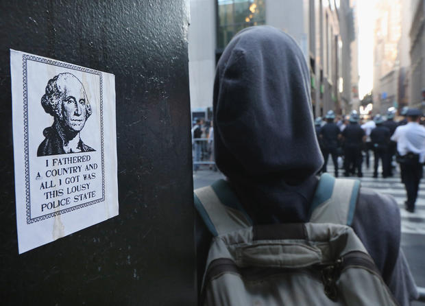 Occupy movement marks 1st anniversary