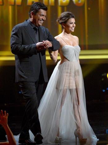 Eva Longoria's ALMA awards fashion