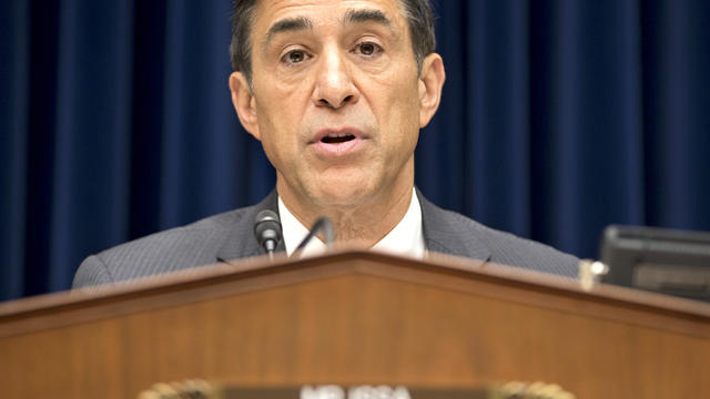 House Oversight Committee Chairman Darrell Issa, R-Calif., hears from Inspector General Michael Horowitz, the Justice Department's internal watchdog, on Capitol Hill in Washington Sept. 20, 2012.