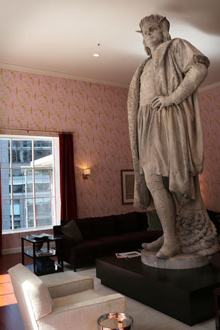 "Columbus discovered in ""Living Room"""