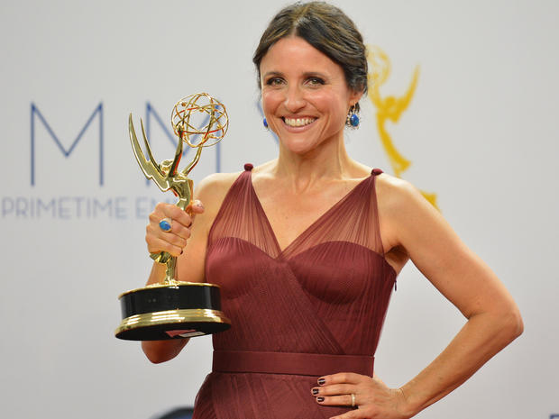 Emmy press room 2012