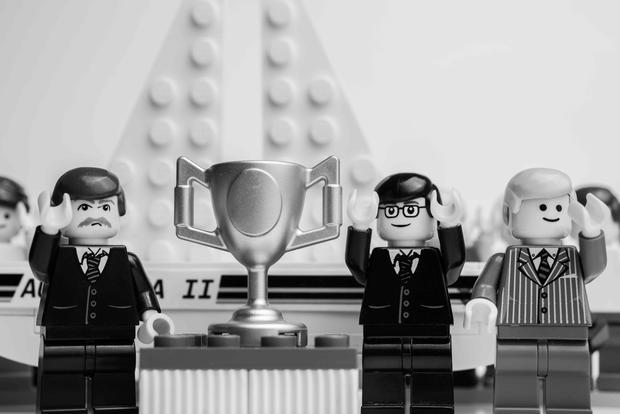 Iconic Australian moments in LEGOs