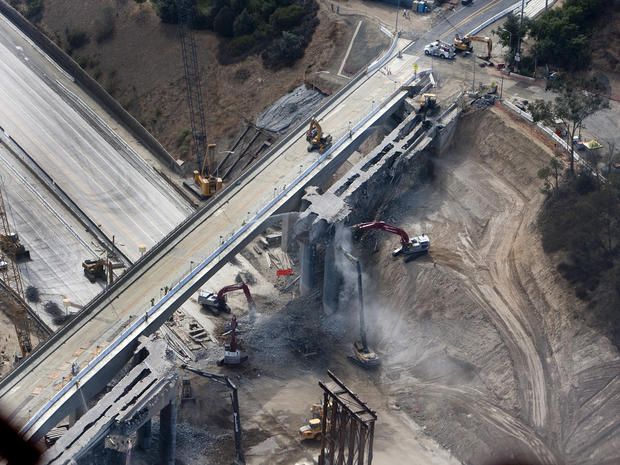 "L.A. undergoes ""Carmageddon II"""