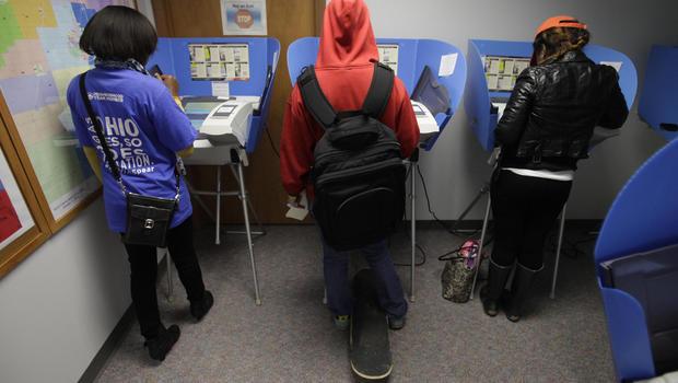 early voting, ohio, voters, generic