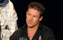 Felix Baumgartner prepares for record-setting 23-mile free fall
