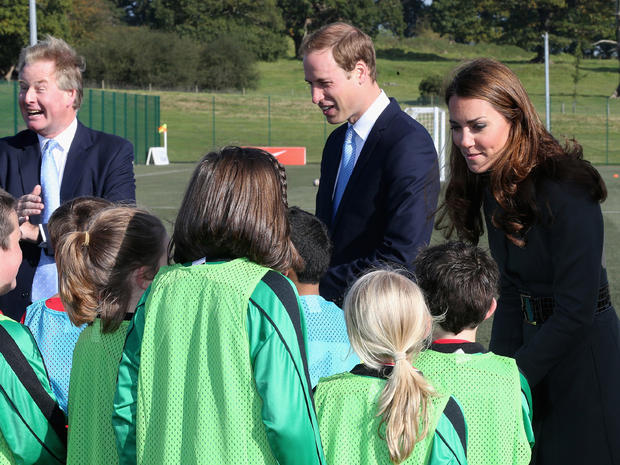 Prince William and Kate open new soccer center