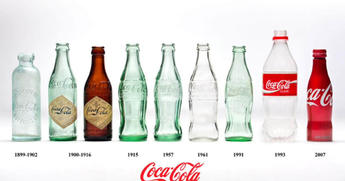 Coca Cola Retires Classic Glass Bottle Cbs News